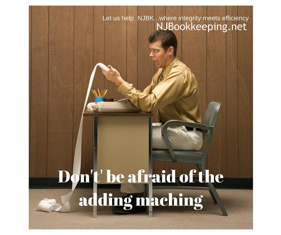 NJ Don't' be afraid of the adding maching